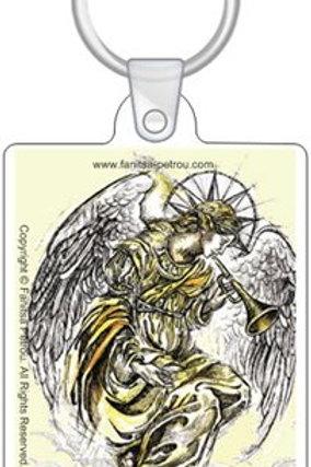 Angel keyring, 1