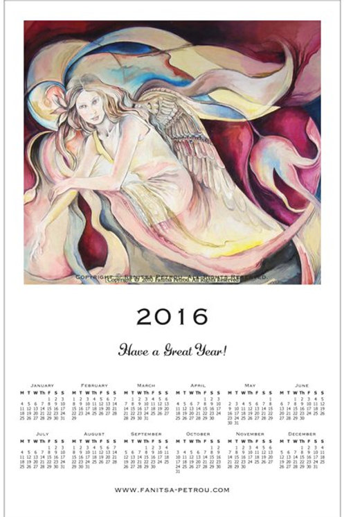 Angel Calendar, 2016