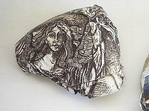 """Angel"" collage stone"