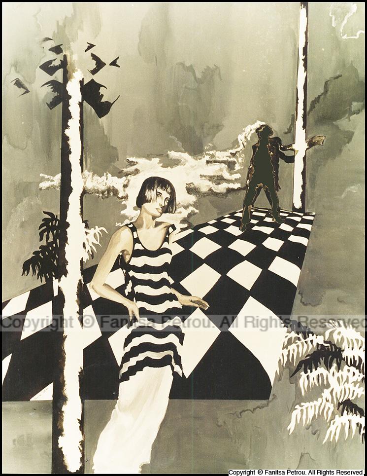 black & white copy