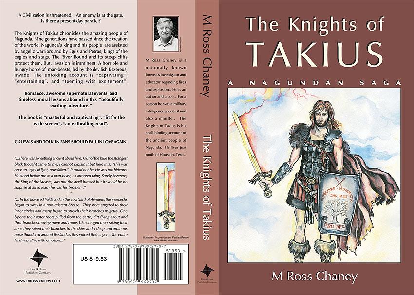 knights of Takius book jacket