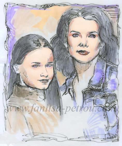 Gilmore Girls - Lorelai & Rory