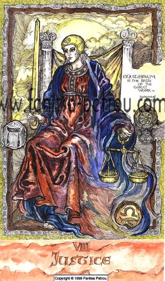 Tarot Card-Justice
