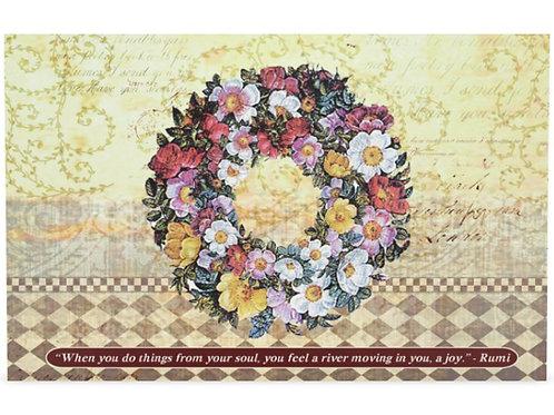 """Rumi quote"" card & calendar"
