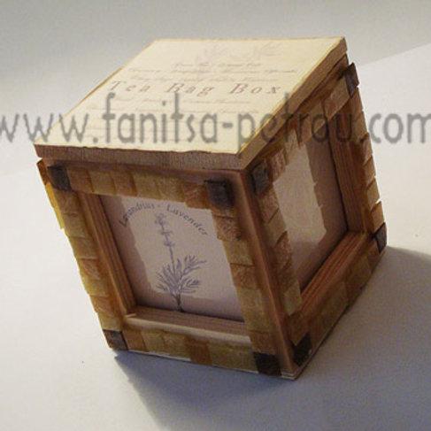 Mosaic Tea bag box