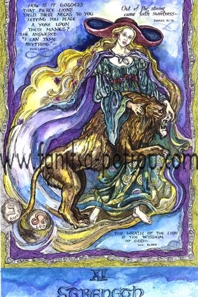 Tarot Cards - Streangh