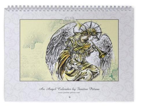 Angel wall Calendar, I - 2016