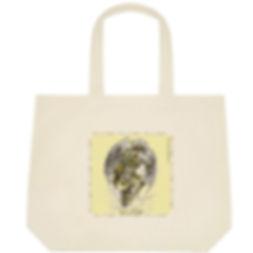 Fanitsa Petrou Art, Cotton bag, Tote bag, fabric shopping bag, Angel print, Love & Light, Angel gifts, www.fanitsa-petrou.com