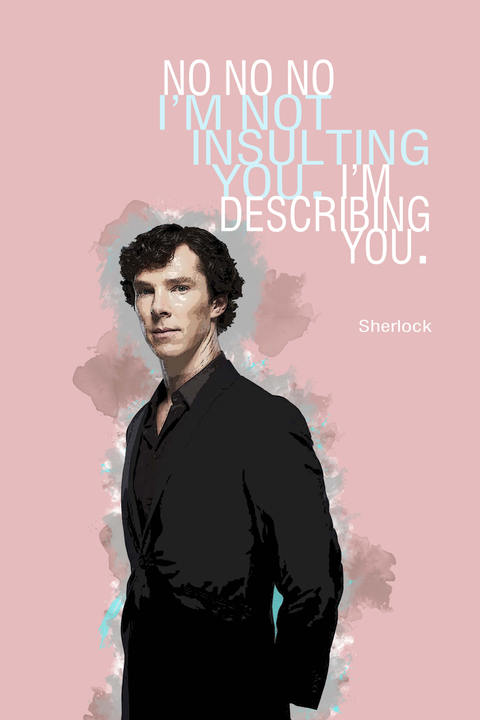 Sherlock Holmes quotes - 1