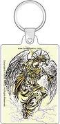 Fanitsa Petrou Art, Angel key ring, Angel Art gift, illustration by Fanitsa Petrou, www.fanitsa-petrou.com