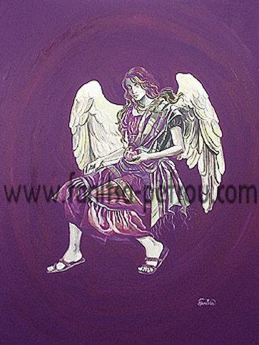 """Angel of Spring"" card"