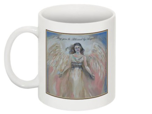 Angel mug, 2