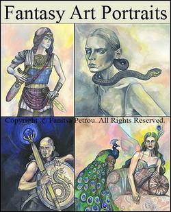 fantasy art portraits