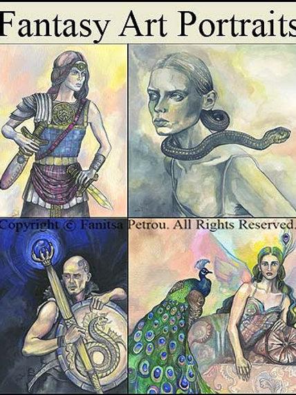 Fantasy Art Portraits - By Commission