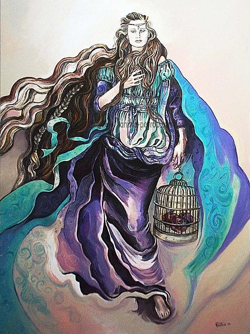 Persephone, goddess of Springtime