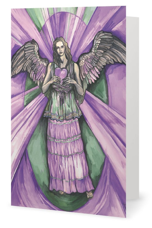 """Archangel Kyniel"" card - Greek"