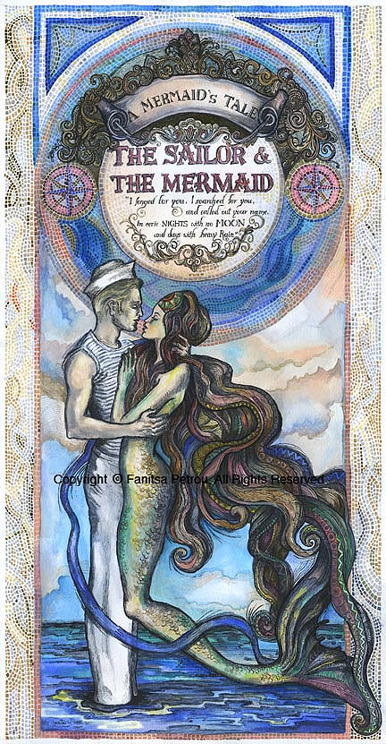 The Sailor & the Mermaid I
