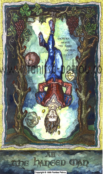 Tarot card-The Hanged Man