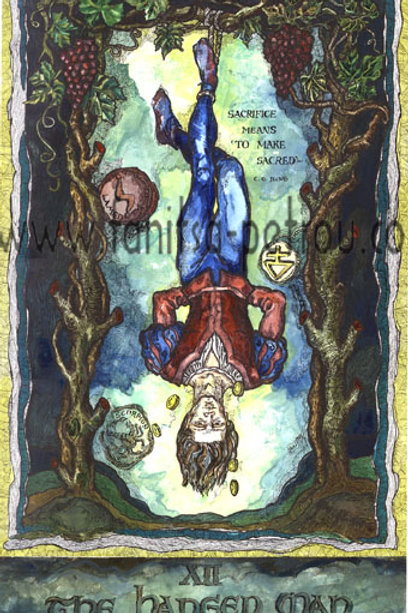 Tarot Cards - The Hanged man