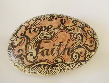 Fanitsa Petrou Art, gifts to offer hope, hope, love, faith, dreams, wooden signs, hand painted stones, cards