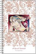 Fanitsa Petrou Art, angel painting, angel illustration, notebook illustration by Fanitsa Petrou, www.fanitsa-petrou.com