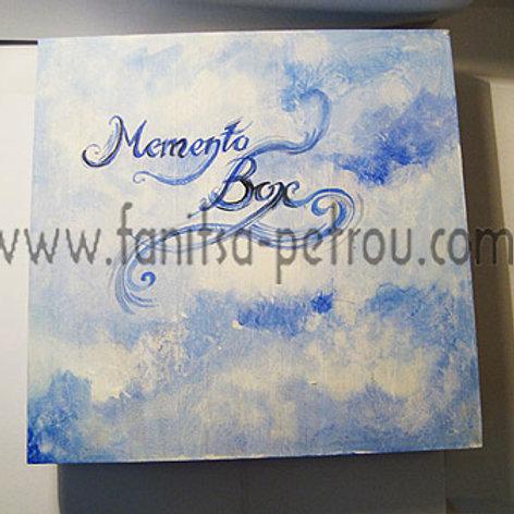 Blue Memento Box