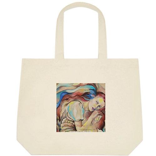 """Fairy"" tote bag / big"