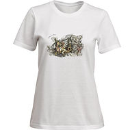 Fanitsa Petrou Art, T-shirt with dragon, illustration by Fanitsa Petrou, www.fanitsa-petrou.com