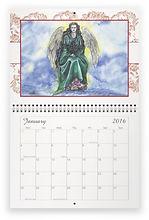 Fanitsa Petrou Art. Angel Calendar 2016, by Fanitsa Petrou. www.fanitsa-petrou.com