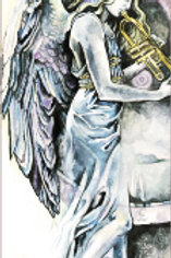 """""""Angel of Time"""" Bookmark"""