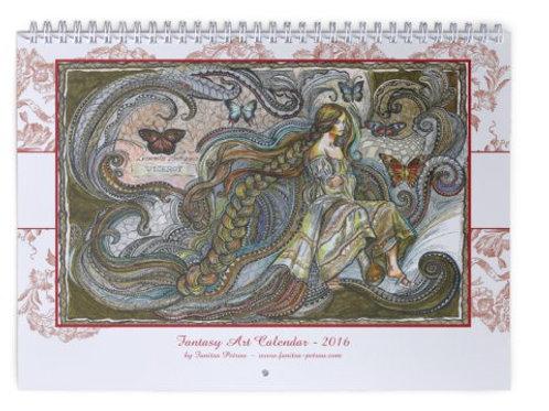 Fantasy Art, II - wall Calendar 2016