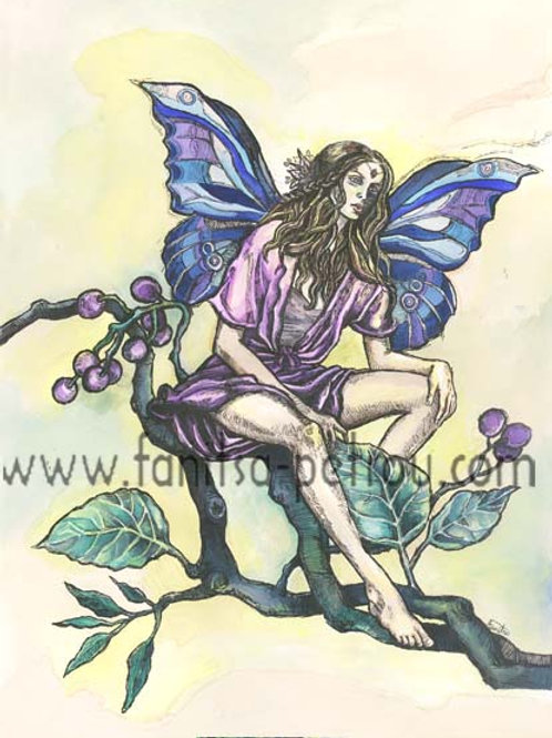 """Little Fairy"" card"
