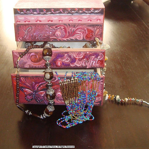 Love & Light jewellery box