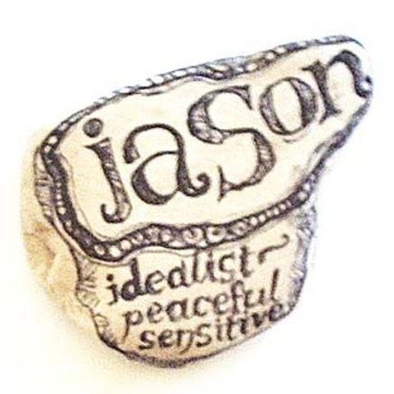 """Jason""- Hand painted Name Stone"