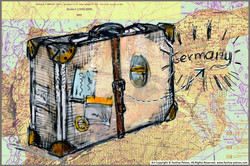 refugees suitcase