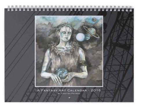 A Fantasy Art wall Calendar - 2016