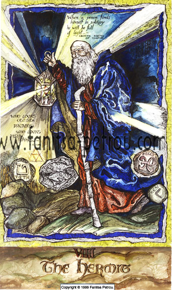 Taort Card-The Hermit