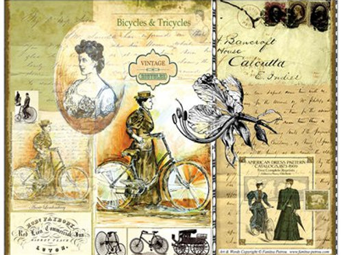 """Bicycles & Tricycles"" card"
