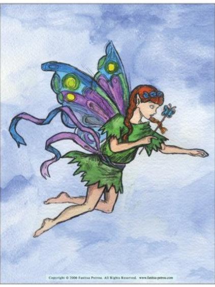 """""""Little Fairy"""" card"""