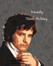 Funny Mr Darcy quote
