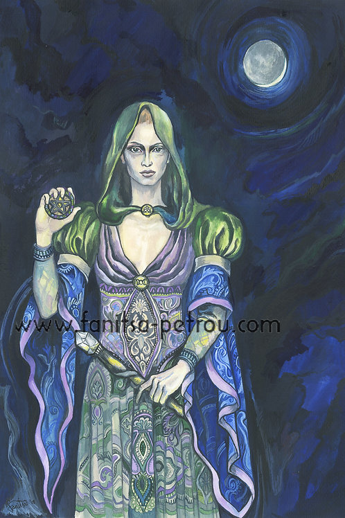 Wiccan Priestess