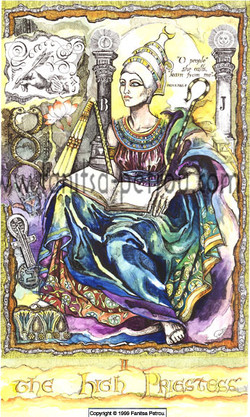Tarot Card-The High Priestess