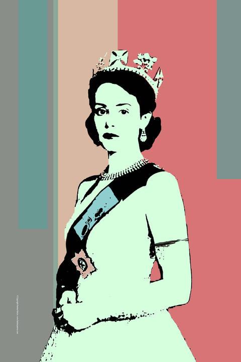 The Crown fanart-Claire Foy portrait