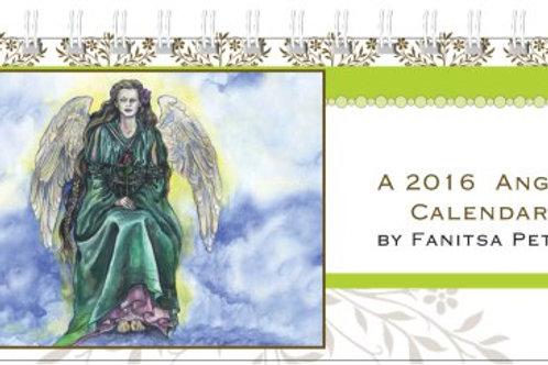 An Angel - desk Calendar 2016, II