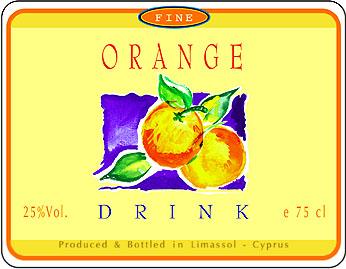 orange drink label_010