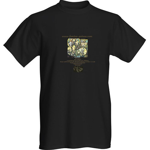 """Ancient stirrings"" T-shirt / black"