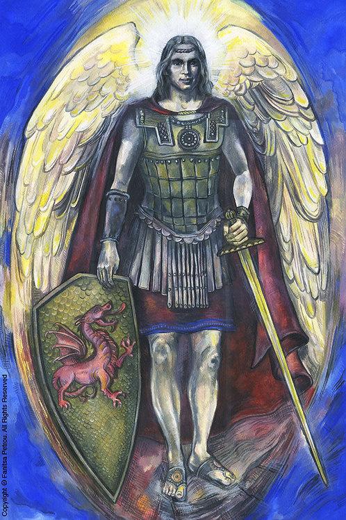"""""""Archangel Michael, III"""" poster"""