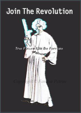 Princess Leia- Join the revolution