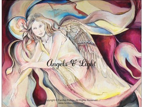 """Angels & Light"" card"