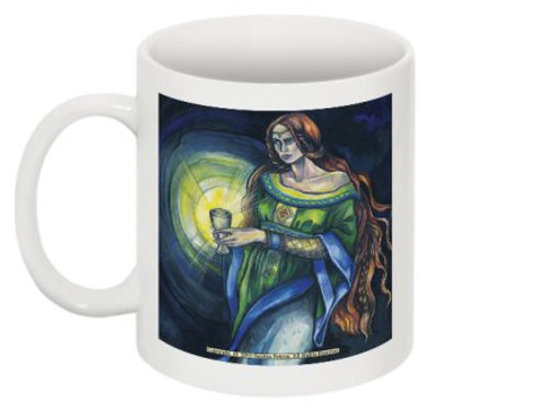 Keeper of the Holy Grail mug